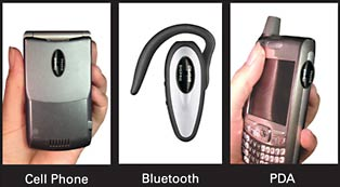 bluetooth radiation, cell phone radiation